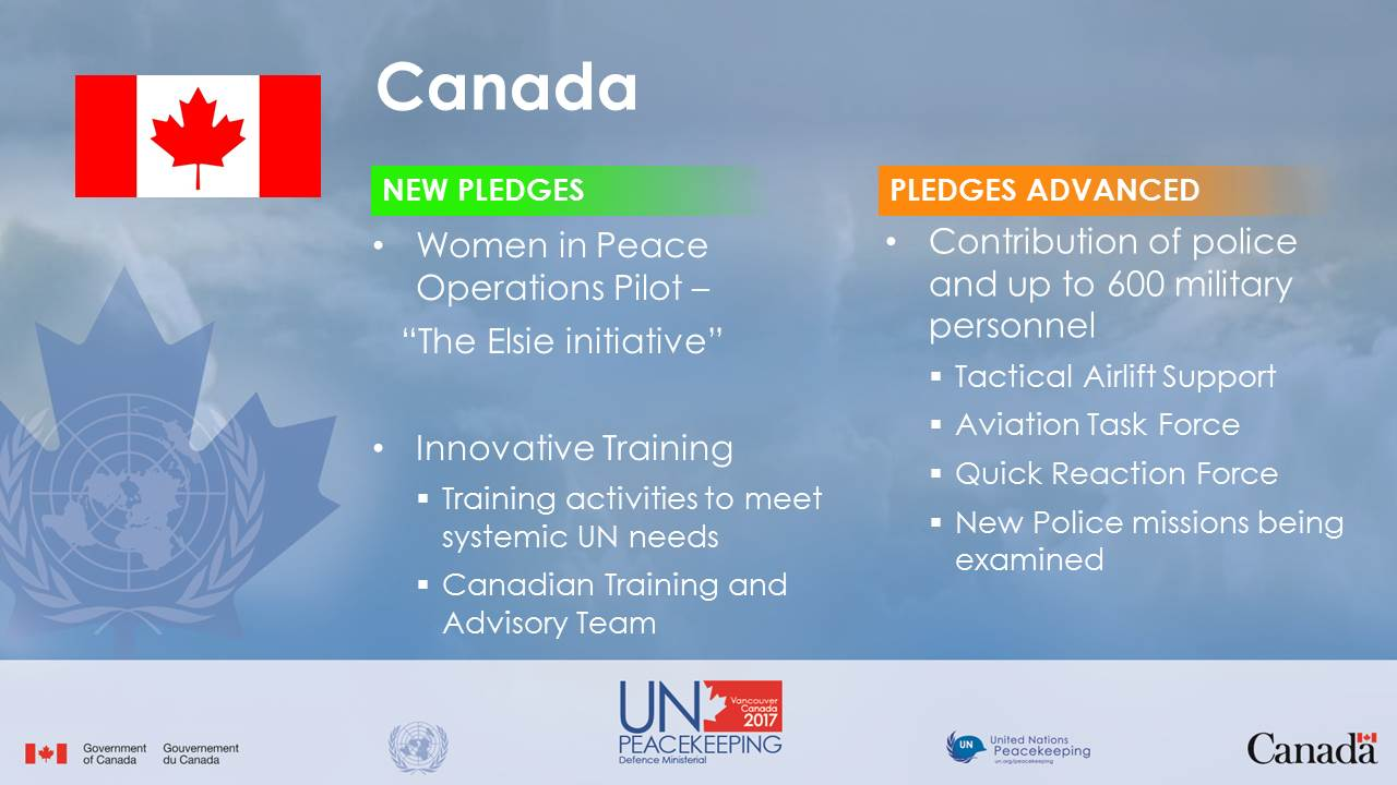 Pledges Peacekeeping Vancouver Ministerial Canada unpkdm pledges en Accessed 2Dec2017
